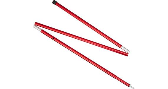 MSR Adjustable Pole 5 FT 130-152 cm Red
